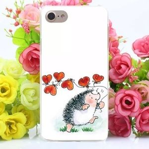 Accessories - 3/$20 Hard cover hedgehog iPhone 8 case